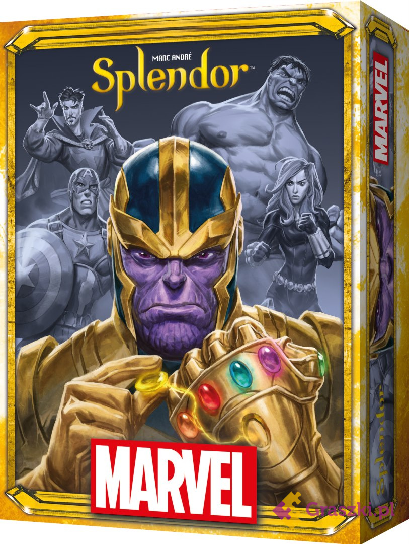 Splendor Marvel WNIEGCIONE PUDEŁKO